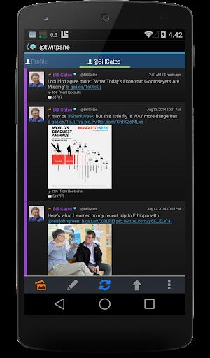 TwitPanePlus for Twitter- screenshot thumbnail