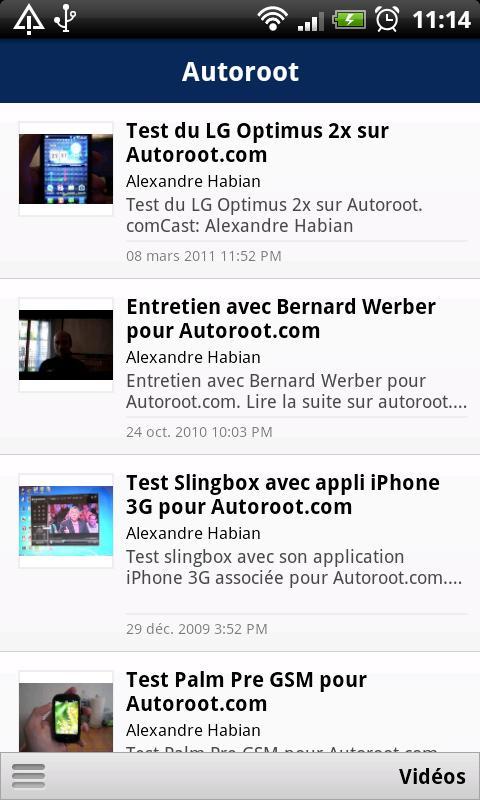 Autoroot - screenshot