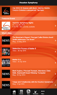Houston Symphony- screenshot thumbnail