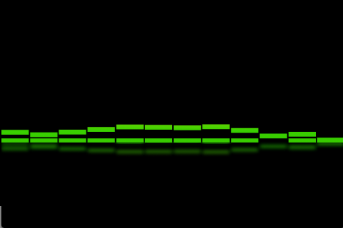 EQ Bars - Audio Spectrum - screenshot