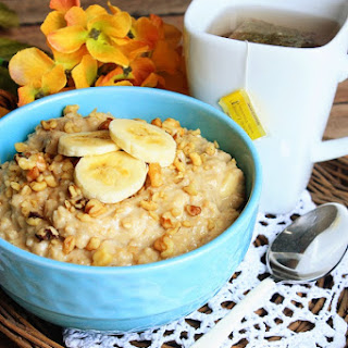 Stove Top Banana Bread Oatmeal