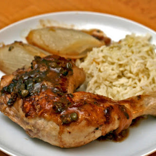 Chicken Catanzaro Style