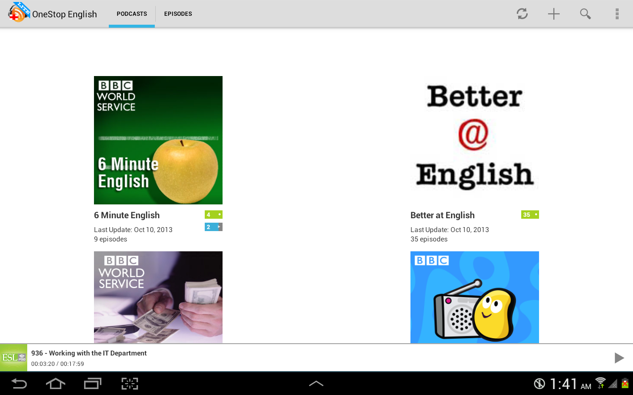 I am learning English! Rate it!?