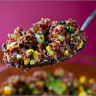 Quinoa With Corn and Zucchini
