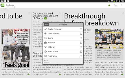 PressReader (preinstalled) Screenshot 29