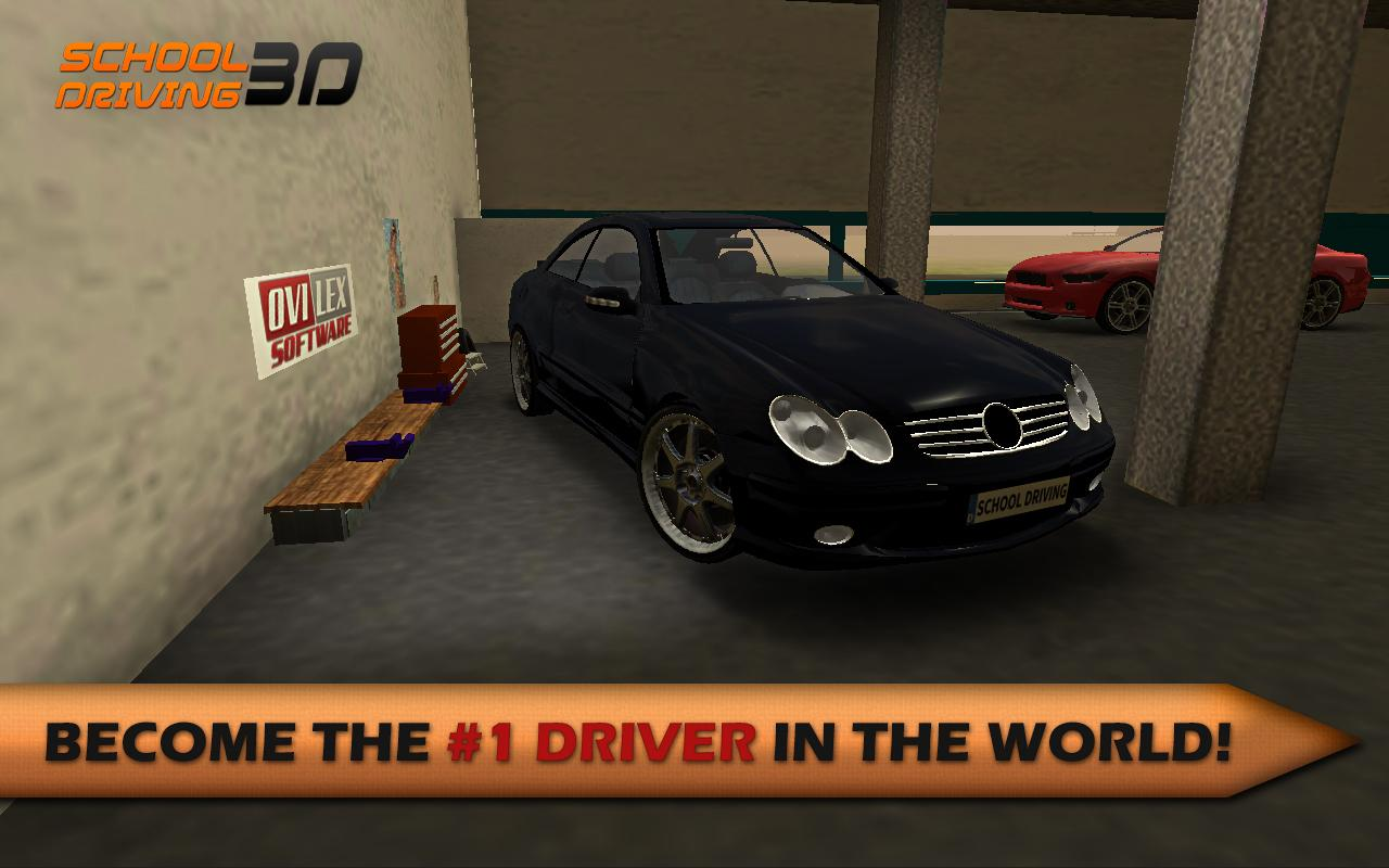 Screenshots of School Driving 3D for iPhone