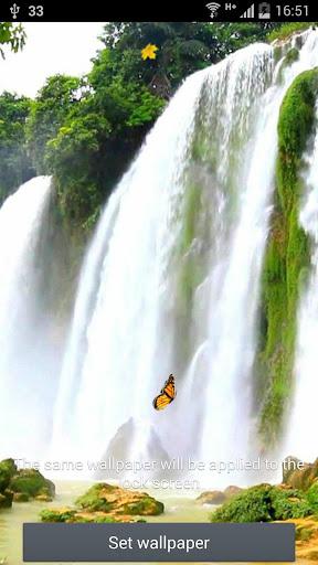Waterfall Live Wallpaper Pro