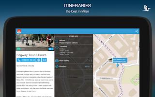 Screenshot of My Milano - Offline City Guide