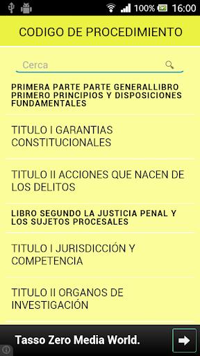 PROCEDIMIENTO PENAL BOLIVIA