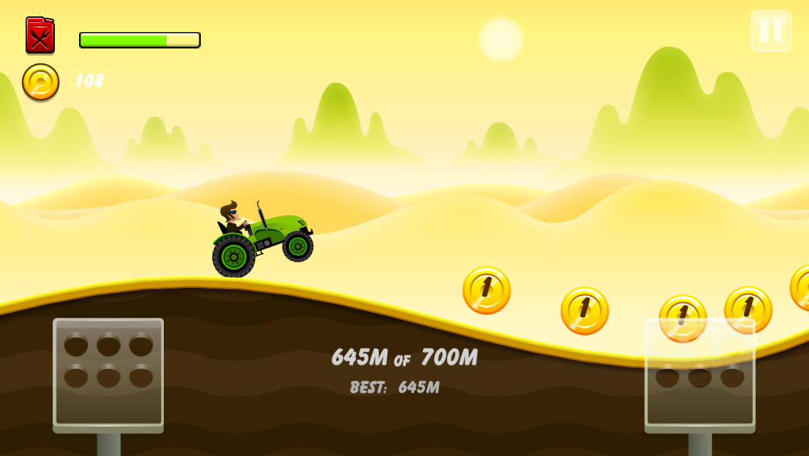 Hill Racing: mountain climb - screenshot