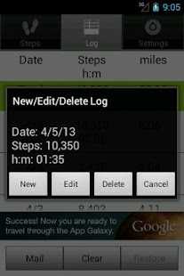 Walkroid - simple pedometer- screenshot thumbnail