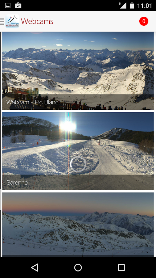 Alpe d'Huez - screenshot