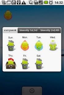 Garbage day widget Goodie ver.- screenshot thumbnail