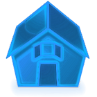 Neon Blue+ Icons Pack - ADW GO icon