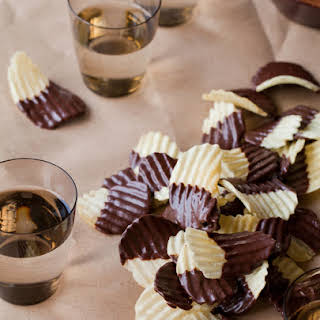 Chocolate Covered Potato Chips.
