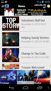 WLOS ABC13 - screenshot thumbnail