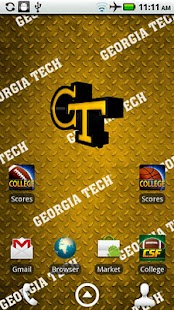 Georgia Tech Live Wallpaper HD- screenshot thumbnail