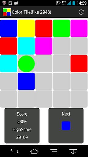 6カラーパズル