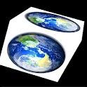 3D EARTH CUBE LIVE WALLPAPER icon