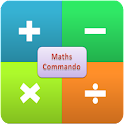 Maths Commando (Ad Free) logo