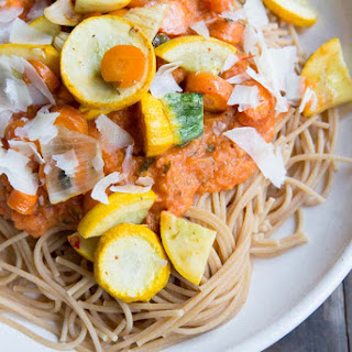 Blender Roasted Vegetable Marinara Sauce