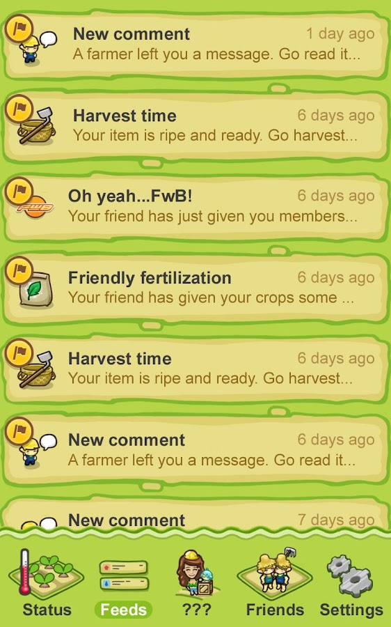 Big Barn World Social Farming - screenshot