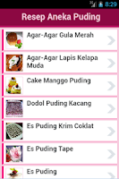 Screenshot of Resep Puding