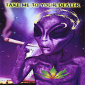 Alien Weed Live Wallpaper icon