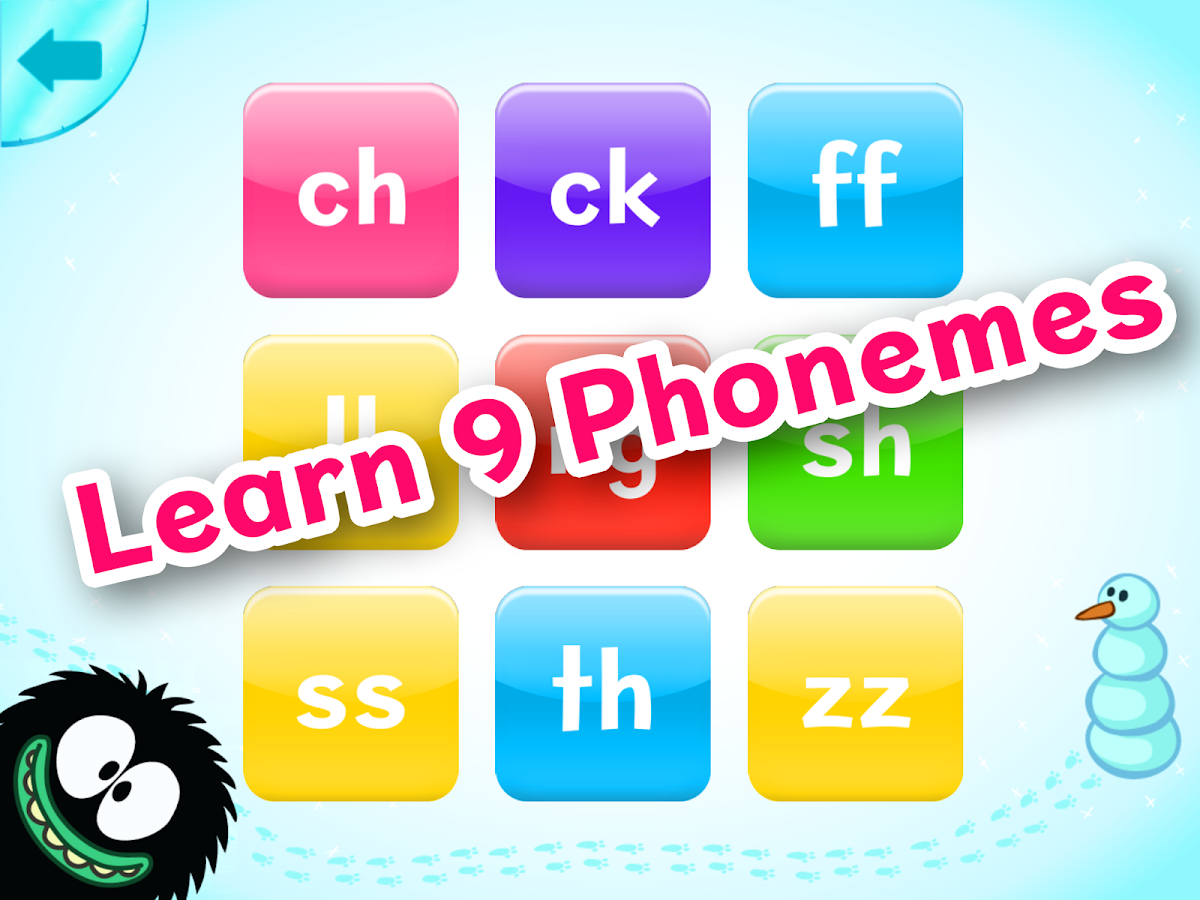 Hairy Phonics 1- screenshot