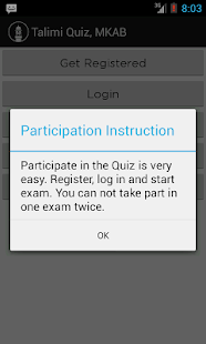 Talimi Quiz, MKAB- screenshot thumbnail