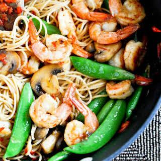 Ginger Lime Shrimp and Noodles.