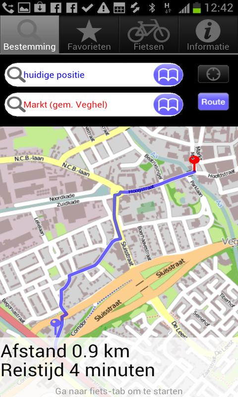Route Planner- screenshot