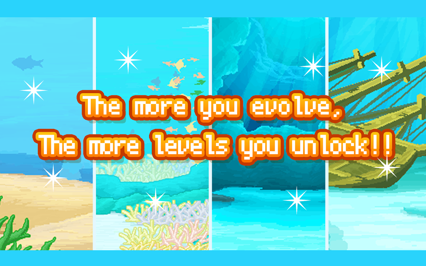 Survive! Mola mola!- screenshot