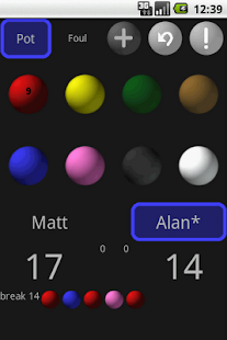 Snooker Scoreboard League - screenshot thumbnail