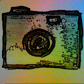 Camera paper drawing effect