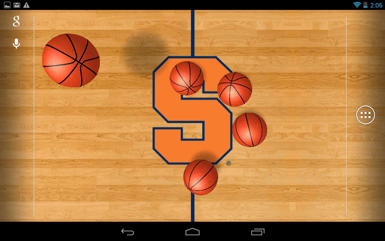 College Basketball LWP - screenshot
