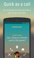 Screenshot of Knock for Android