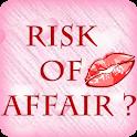 R U at risk of having Affair? logo