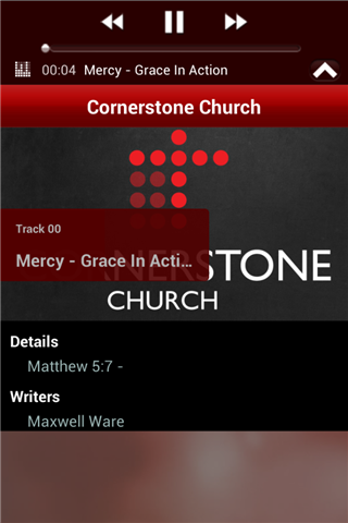 Cornerstone Church- screenshot