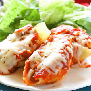 Pizza Stuffed Shells