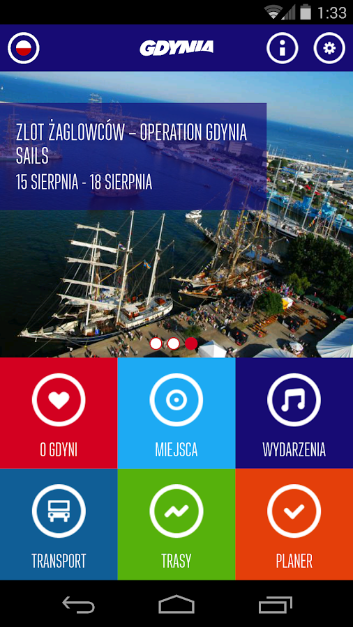 Gdynia City Guide- screenshot