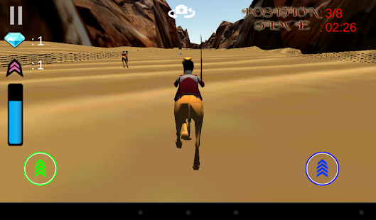 3D駱駝比賽
