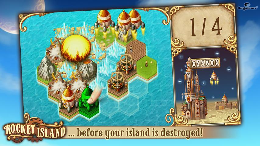 Rocket Island - screenshot