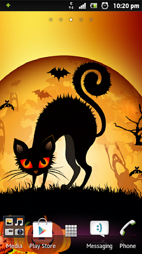 Halloween Cat Yin LWP