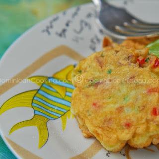 Bacalaitos (Codfish Fritters).
