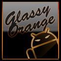 GOKeyboard Theme Glassy Orange icon