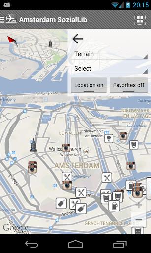 【免費旅遊App】Amsterdam SozialLib-APP點子