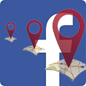Friends Locator for Facebook icon