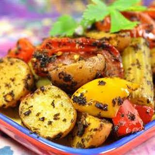 Moroccan Potato Casserole.