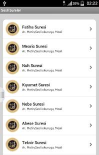 Sesli Kuran Sureleri - náhled